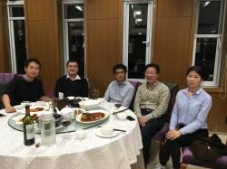 With Prof Hong Li, Nankai University, Tianjin, China, November 1-3, 2016