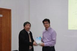 With Prof Bingzhen Chen, Tsinghua University, Beijing, China, November 4, 2016.