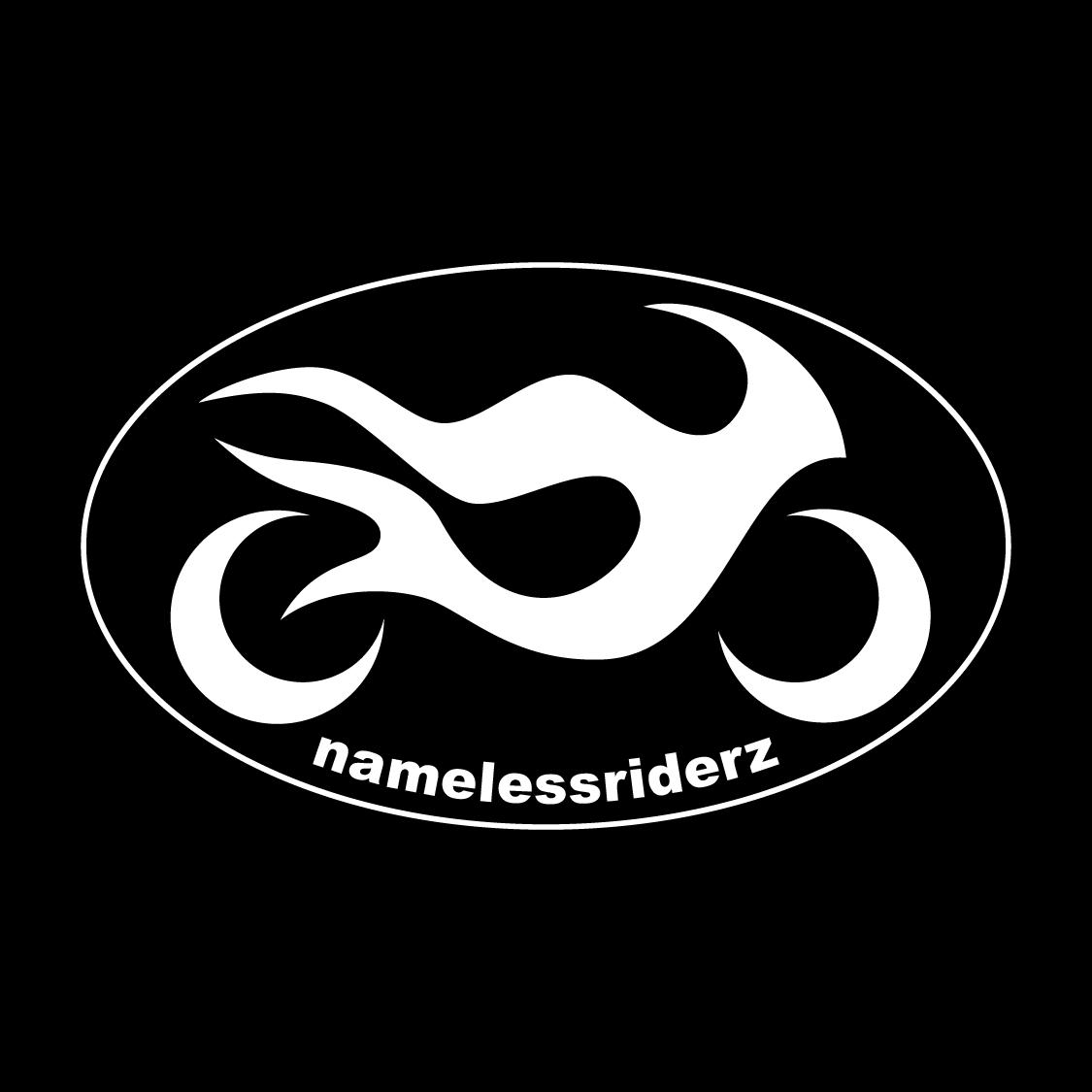 Logo design thumbnail for Nameless Riderz