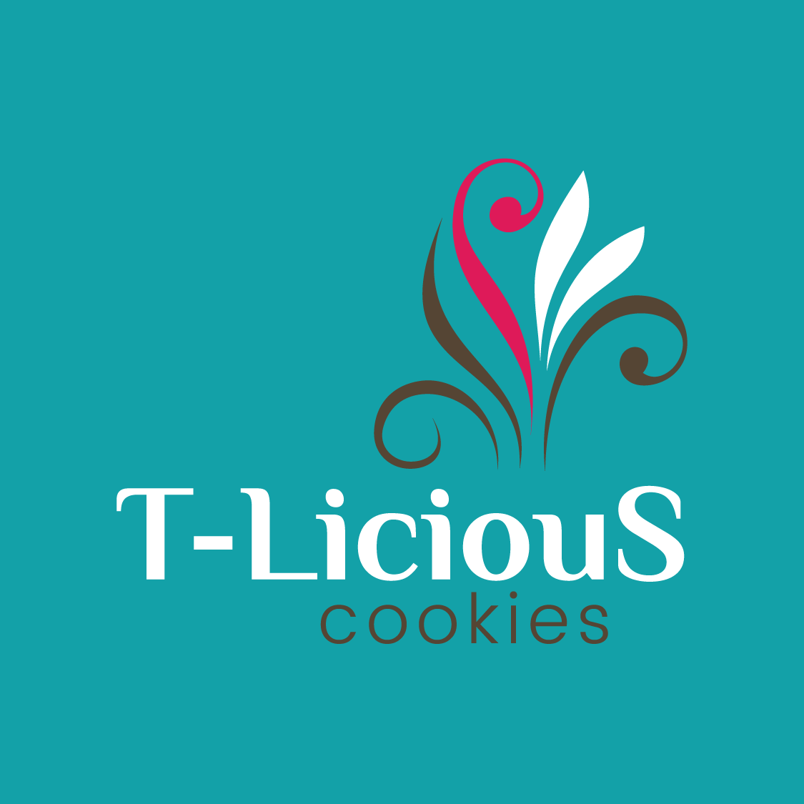 Logo Design Thumbnail for T-Licious Cookies