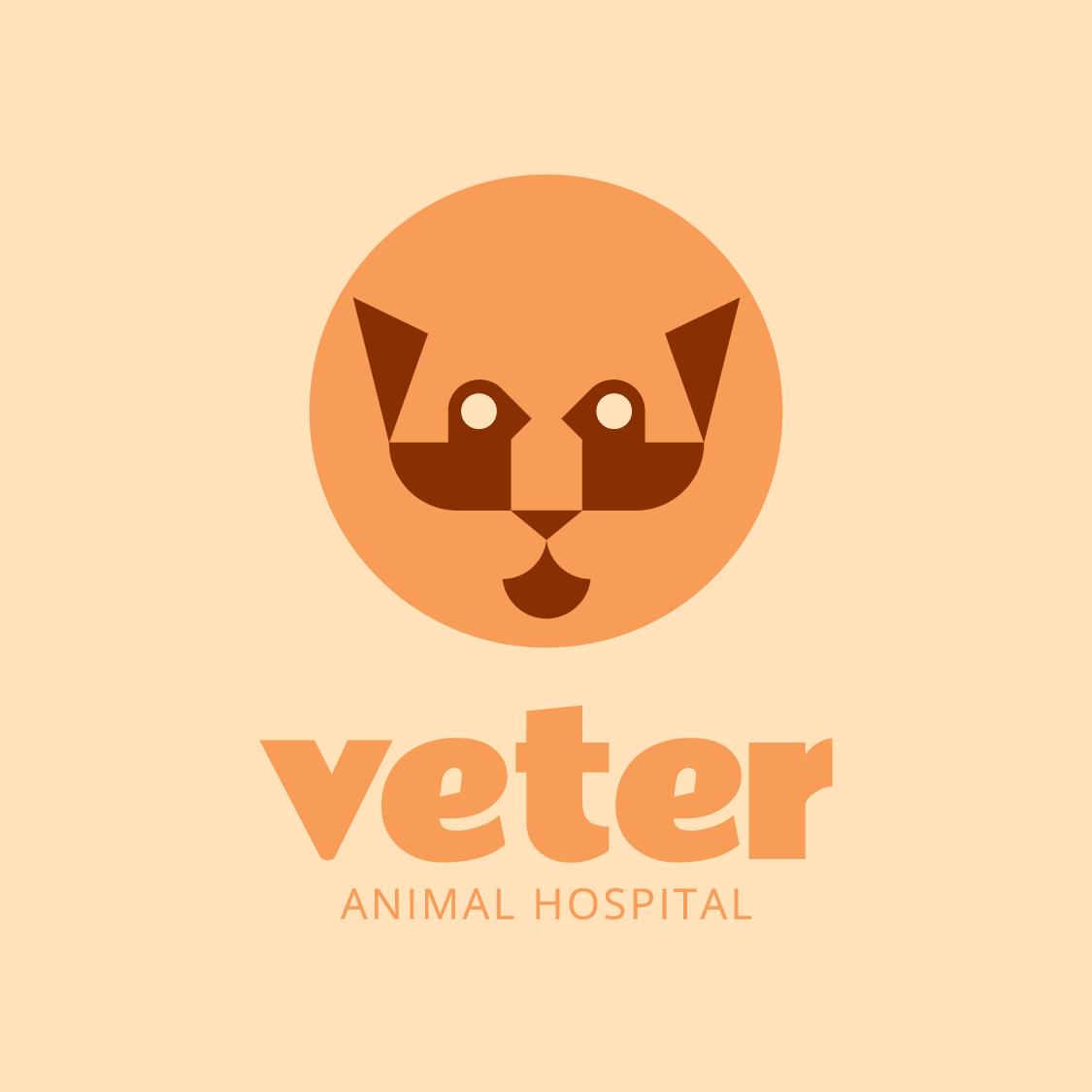 Logo design thumbnail for Veter Animal Hospital