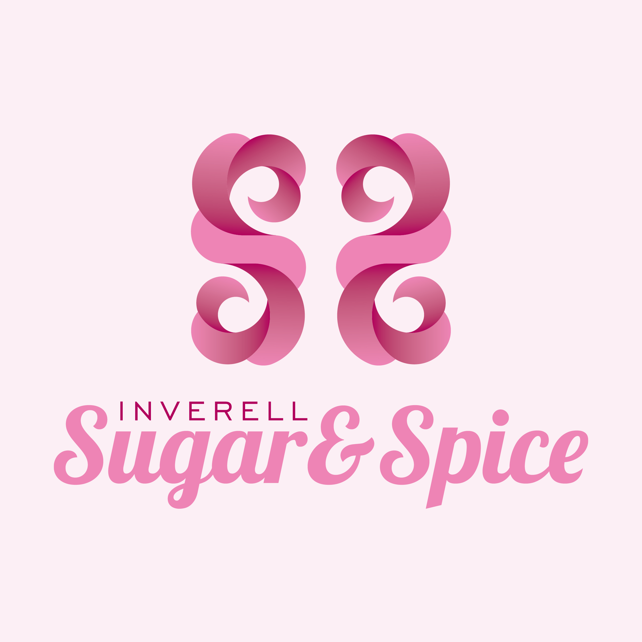 Small business logo design thumbnail for Inverell Sugar & Spice