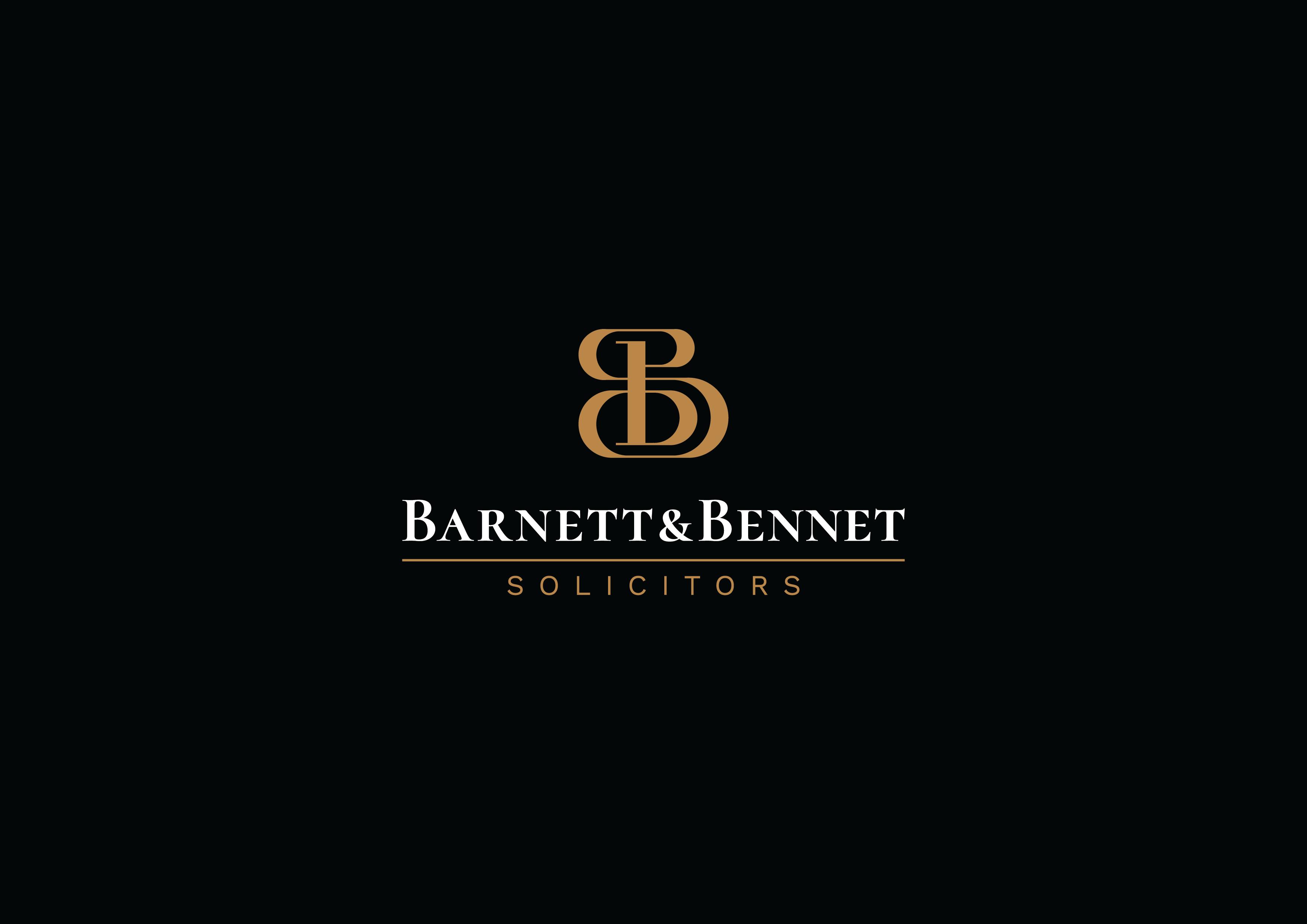 Logo design for Burnett and Bennett Solicitors