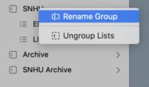 Rename a group in Microsoft To-Do | Daniel M. Clark