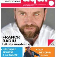 Franck Radiu en couverture du magazine Aqui!
