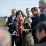 Lancement du chantier de Fonseranes par Carole Delga