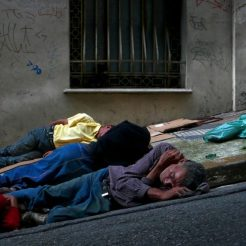 Sans-abri à Sao Paulo