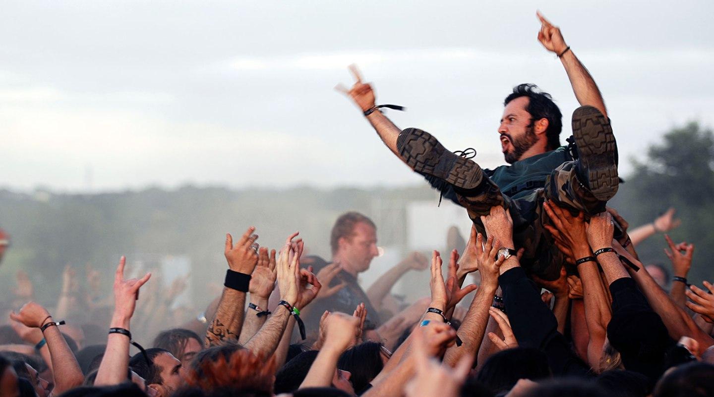 Le public du Hellfest festival