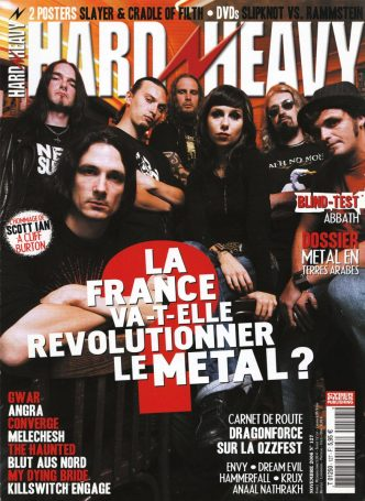 Le Metal français en couverture du magazine Hard'n'Heavy