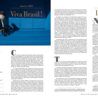 Manière de Voir 113 Brésil