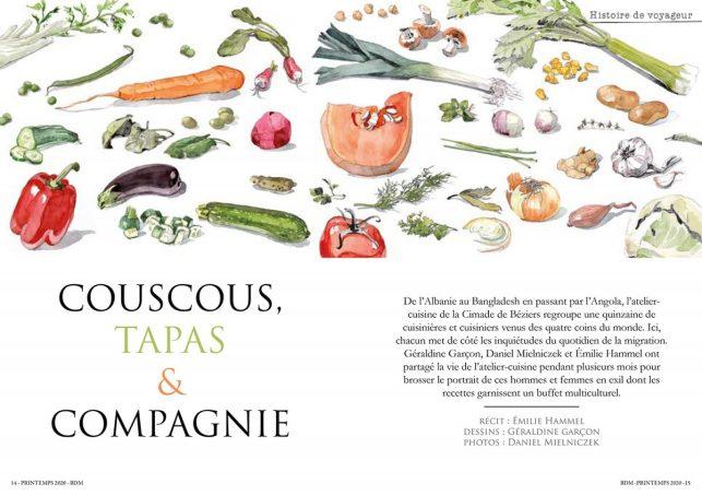 Cuisines D'ailleurs dans la revue Bouts du Monde