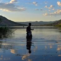 Pêche à la ligne Lac du Salagou