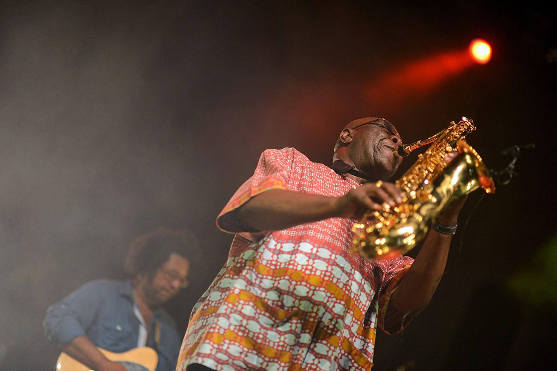 Manu Dibango Béziers 2013