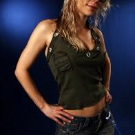Portrait de Angela Gossow - Arch Enemy