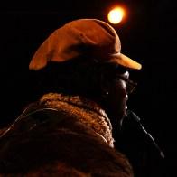 Le Chanteur Corneille en tournée pour Rolling Stone