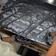 Gravure Estampe Béziers