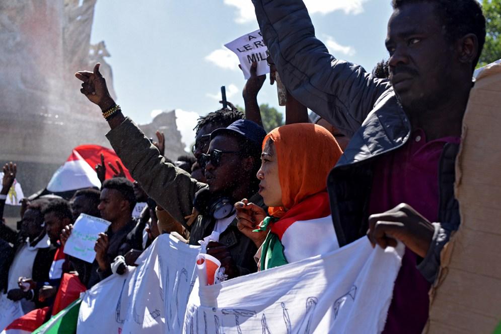 Manifestation Soudan Paris