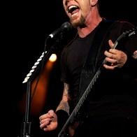 Metallica en concert au Parc des Princes Paris