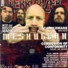 Meshuggah en couverture du magazine anglais Terrorizer