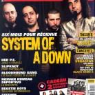 System of a Down en couverture du magazine Rocksound