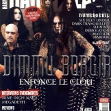 Dimmu Borgir en couverture du magazine Hard'n'Heavy