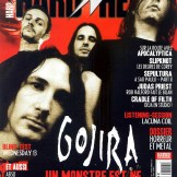 Gojira en couverture du magazine Hard'n'Heavy