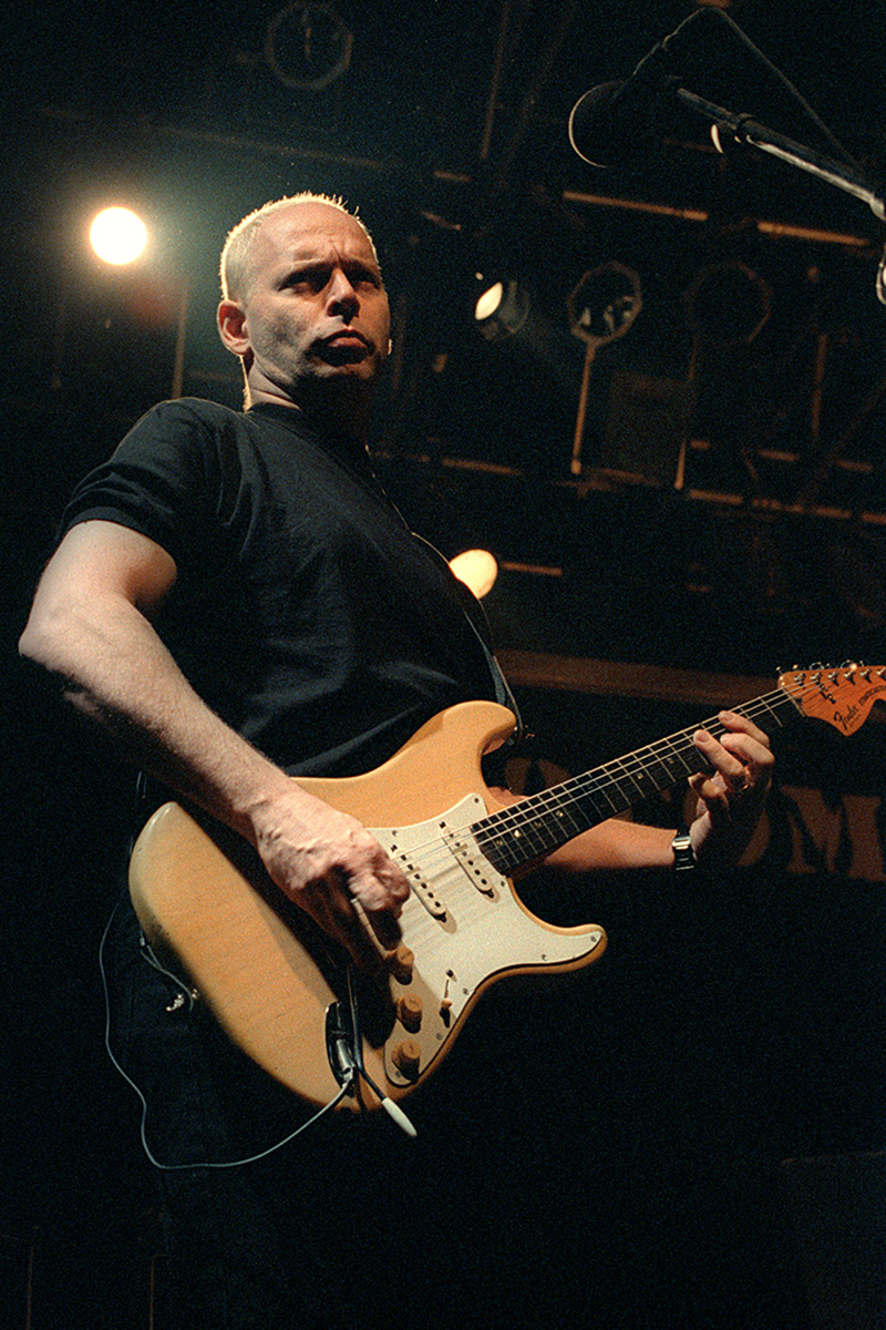 Wayne Kramer guitariste du groupe MC5