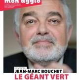 Jean-Marc Bouchet en couverture du magazine Mon Agglo
