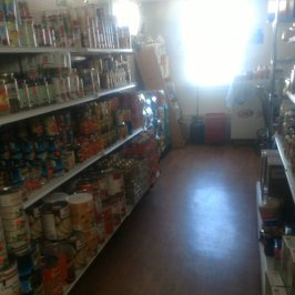 Prairie Lane salvage grocery shelves 2