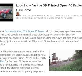 Featured on 3dprintingindustry