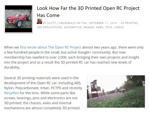Featured on 3dprintingindustry