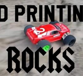 3D Printing Rocks