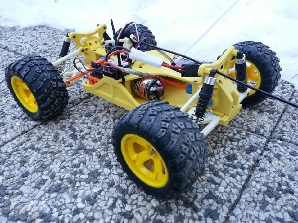 OpenRC Truggy - 1st version