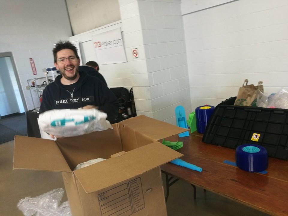 Joel Telling Unpacking OpenRC F1