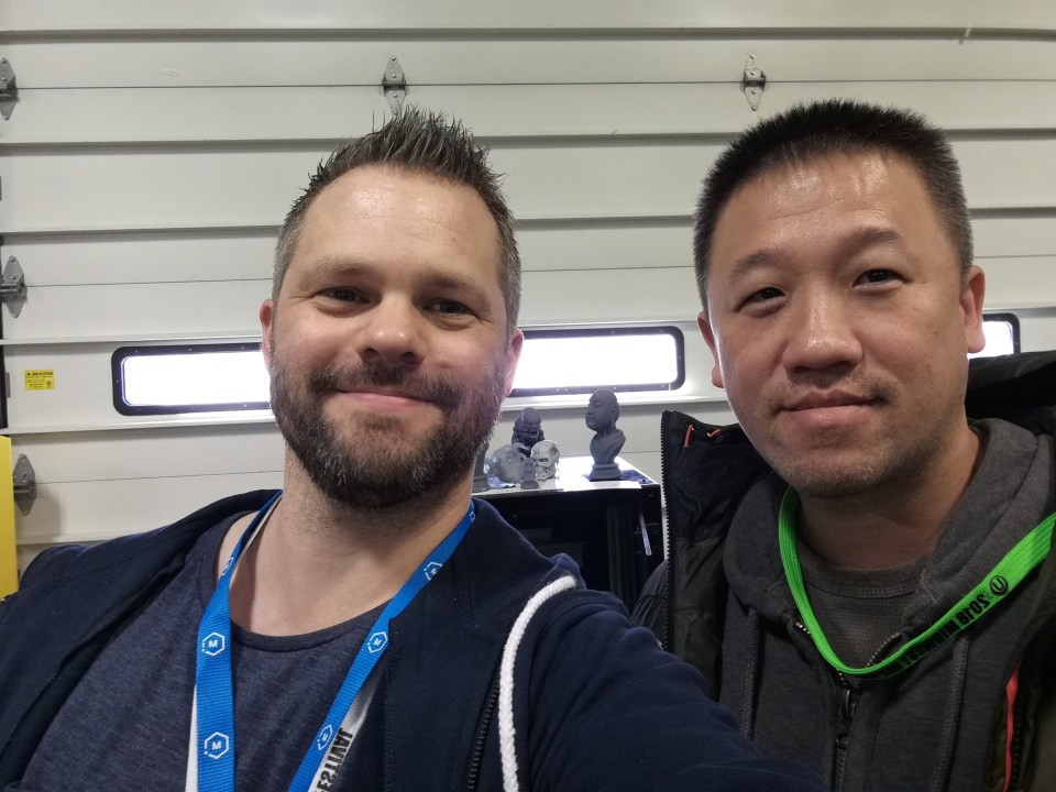 Me And Mark Peng From Peopoly