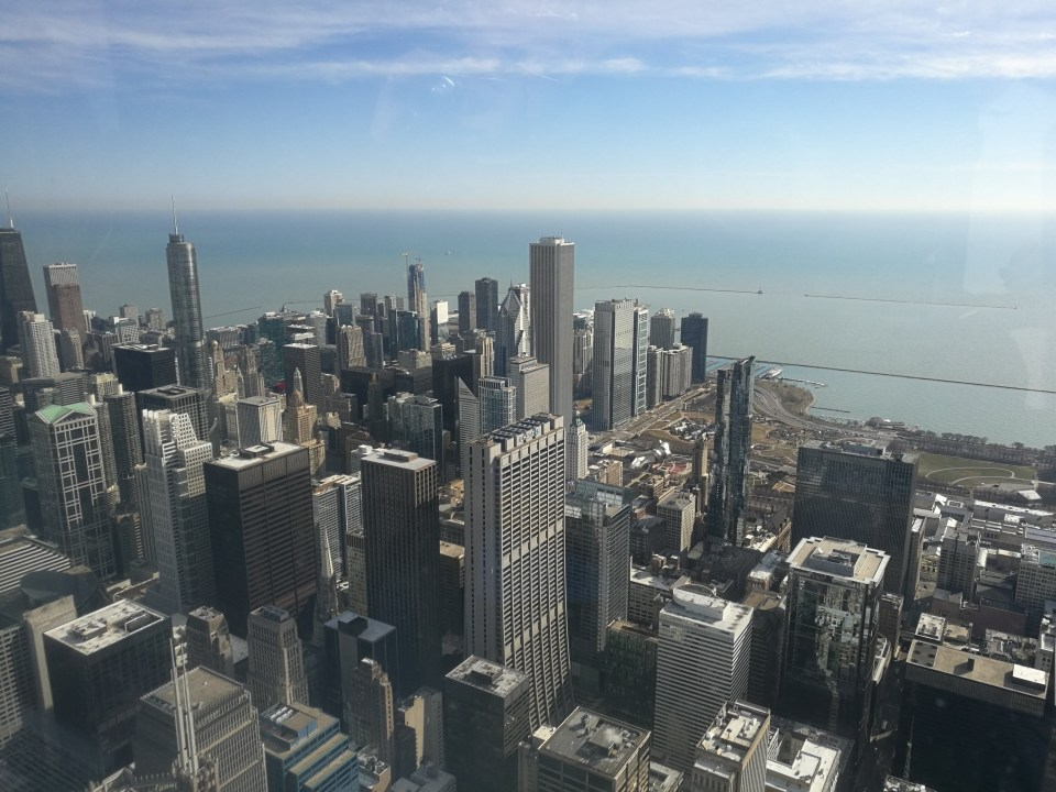 Chicago From Willis Tower