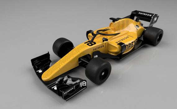 OpenRC F1 Patreon Edition
