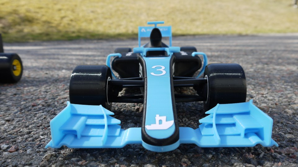 OpenRC F1 Dual Color Edition