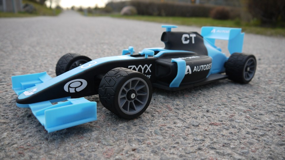 OpenRC F1 With Palmiga Rims & Tires