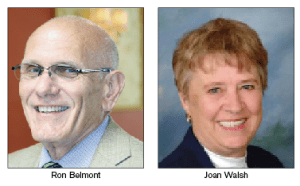 Harrison Town Supervisor Ron Belmont and former Town Supervisor Joan Walsh Set to Face-Off  Photo/Hometwn.com