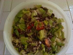 Chipotle Salad with Quinoa