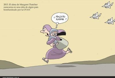 """""""Thatcher"""" por Daniel Paz"""
