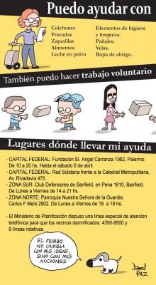 """""""ayuda-inundacion"""" por Daniel Paz"""