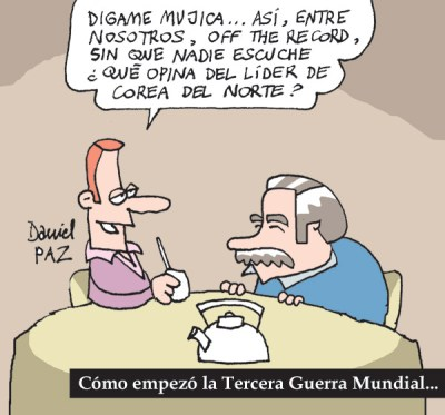 """la boca de mujica"" por Daniel Paz"