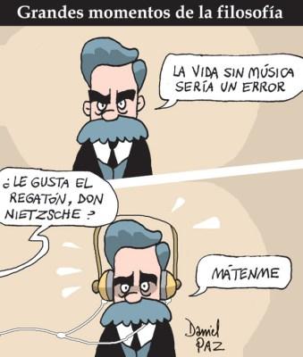"""nietzsche"" por  Daniel Paz"