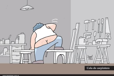 """""""carpintero"""" por Daniel Paz"""