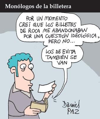 """billetera"" por Daniel Paz"