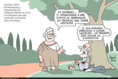 """""""diogenes"""" por Daniel Paz"""