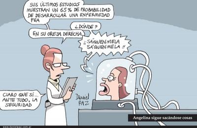 """angelina"" por Daniel Paz"