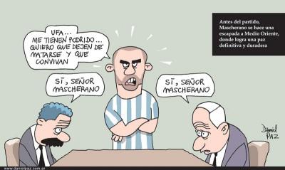 """mascherano"" por Daniel Paz"